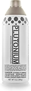 product image for PLUTONIUM Paint 12-Ounce Ultra Supreme Professional Aerosol Paint, Cleveland Grey