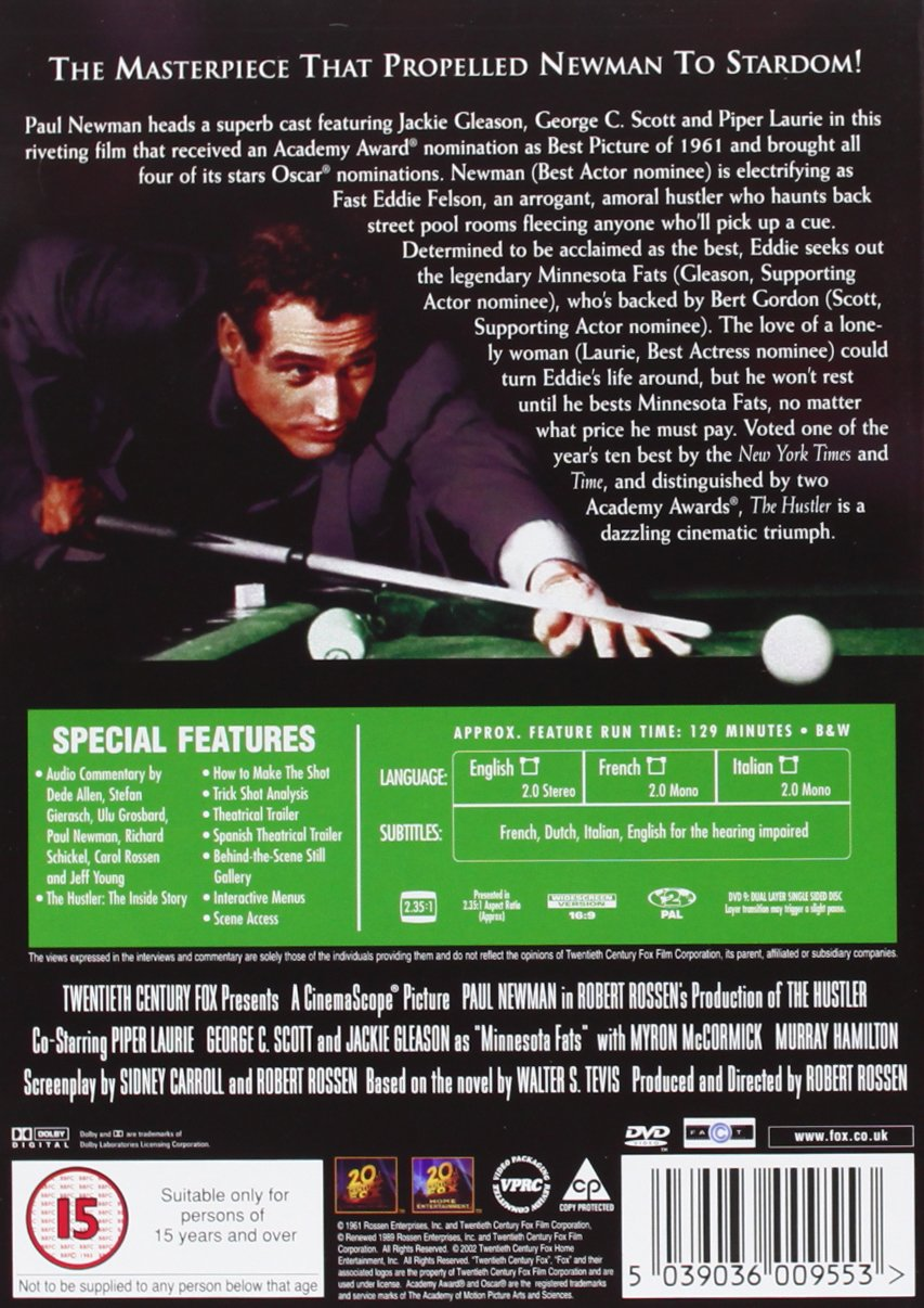 Hustler [Reino Unido] [DVD]: Amazon.es: Paul Newman, Jackie ...