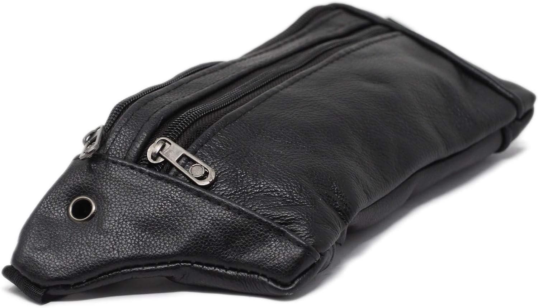 sac /à taille haute pour les loisirs pour hommes et femmes 2 poches Sac Banane Ville ultra-fin /à la taille