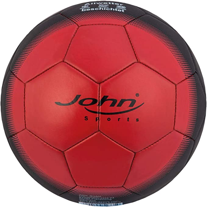 John League Laser - Balón de fútbol, Color Rojo: Amazon.es: Ropa y ...
