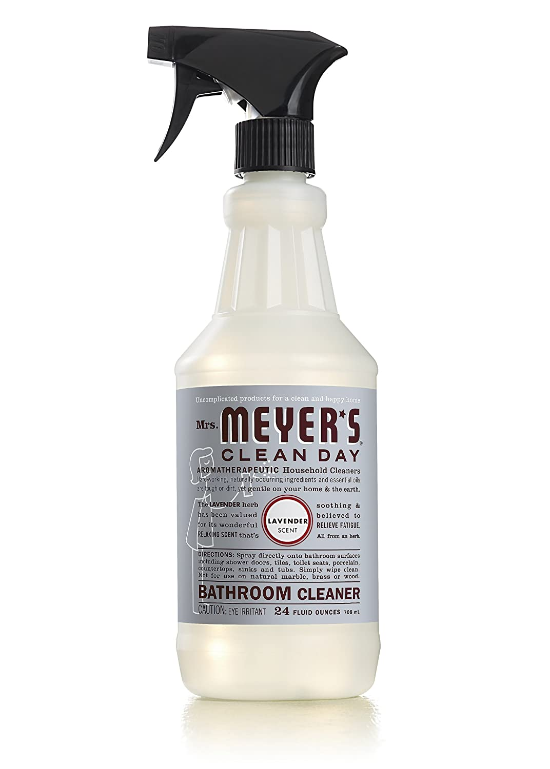 All purpose bathroom cleaner - Amazon Com Mrs Meyer S Clean Day Bathroom Cleaner Lavender 24 Ounce Pack Of 2 Health Personal Care