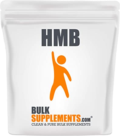 BulkSupplements.com HMB Powder - Fasting Supplement - Butyrate Supplement - Muscle Building Supplements (250 Grams)