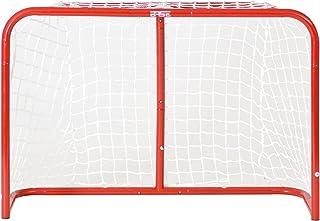Base Porta da hockey,pieghevole, con rete di poliestere, Sport & tempo libero Outdoor, Streethockey Tor Street Goal 54', Rosso, 1.37 x 1.11 x 50.80 cm pieghevole Streethockey Tor Street Goal 54 74611