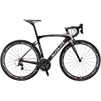Carbon Road Bike, SAVA HERD6.0 T800 Carbon Fiber 700C Road Bicycle with 105 22 Speed Groupset Ultra-Light Carbon…