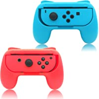 Hand Grips Compatible with Nintendo Switch/Switch OLED Model Controllers, FYOUNG Comfortable Grip Compatible with…