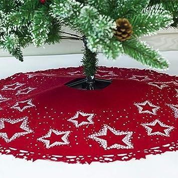 Dekoration Weihnachtsbaum.Weihnachtsbaum Decke Stern Muster Gedruckt Weihnachtsbaum Rock Dekoration Weihnachtsbaumdecke Rund Weihnachtsbaum Röcke Weihnachtsschmuck
