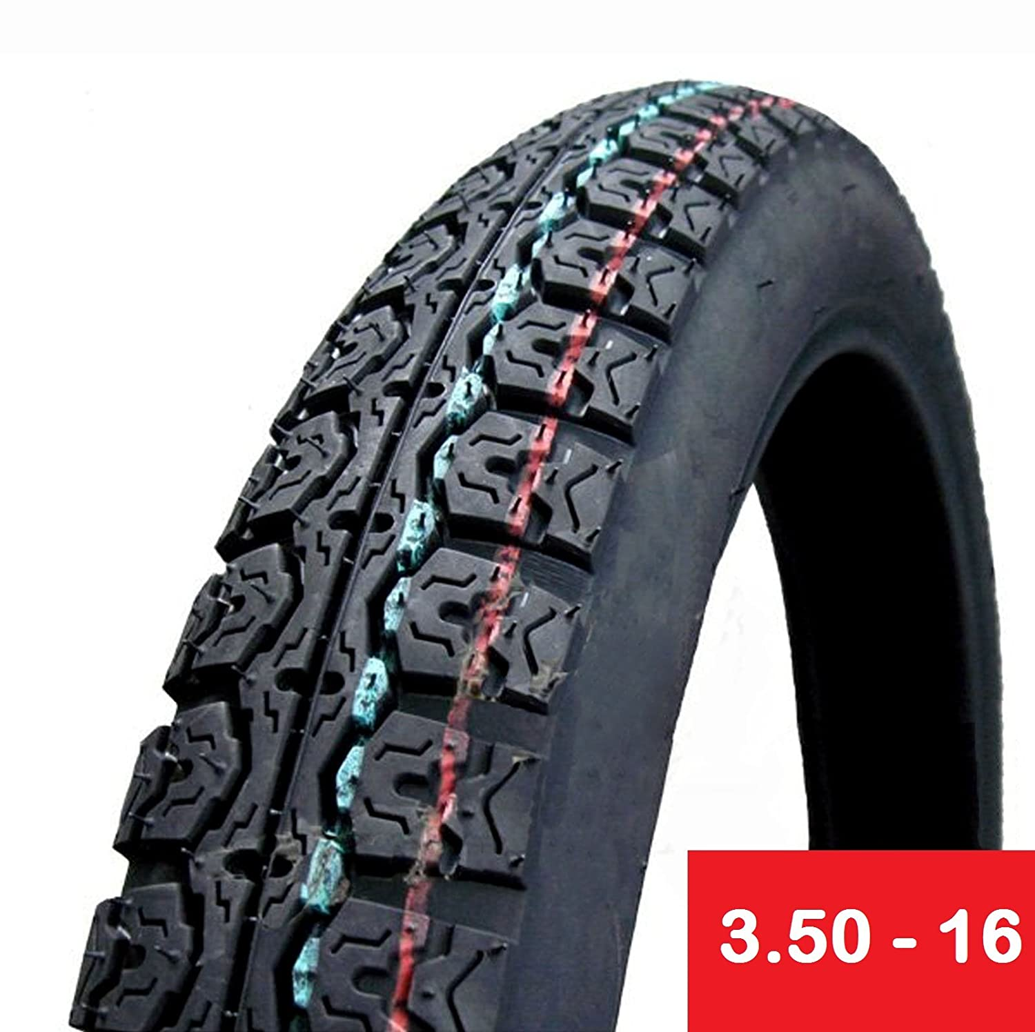 Tire 3.50 - 16 Motorcycle Scooter Moped Street Front/Rear Performance Tire ScooterPartsDepot 4333417840
