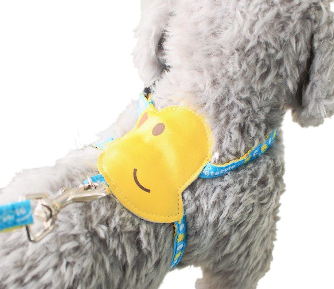 looboo perro Laisse suave anti-traction Vest arnés transpirable ...