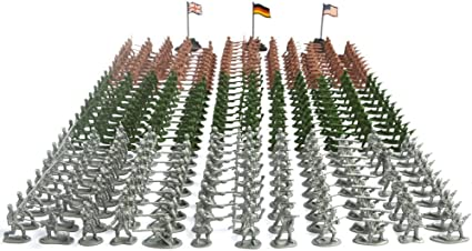 Hand-Painted Plastic w//metal base Britain WWII Japanese Infantry 48 Pcs W