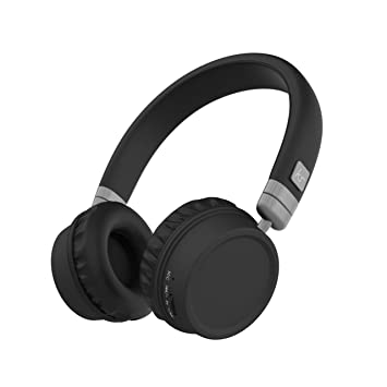 73ee4cc0616 KitSound Harlem Wireless Bluetooth On-Ear Headphones: Amazon.co.uk ...