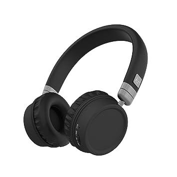 Kitsound Harlem Casque Audio Sans Fil Avec Micro Noir Amazonfr