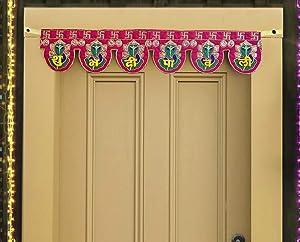 Handmade Door Hanging Ganesha Bandanwar Toran for Home Decoration (30 X 5.5 inch) - Home Decorations Hanging for Home Door