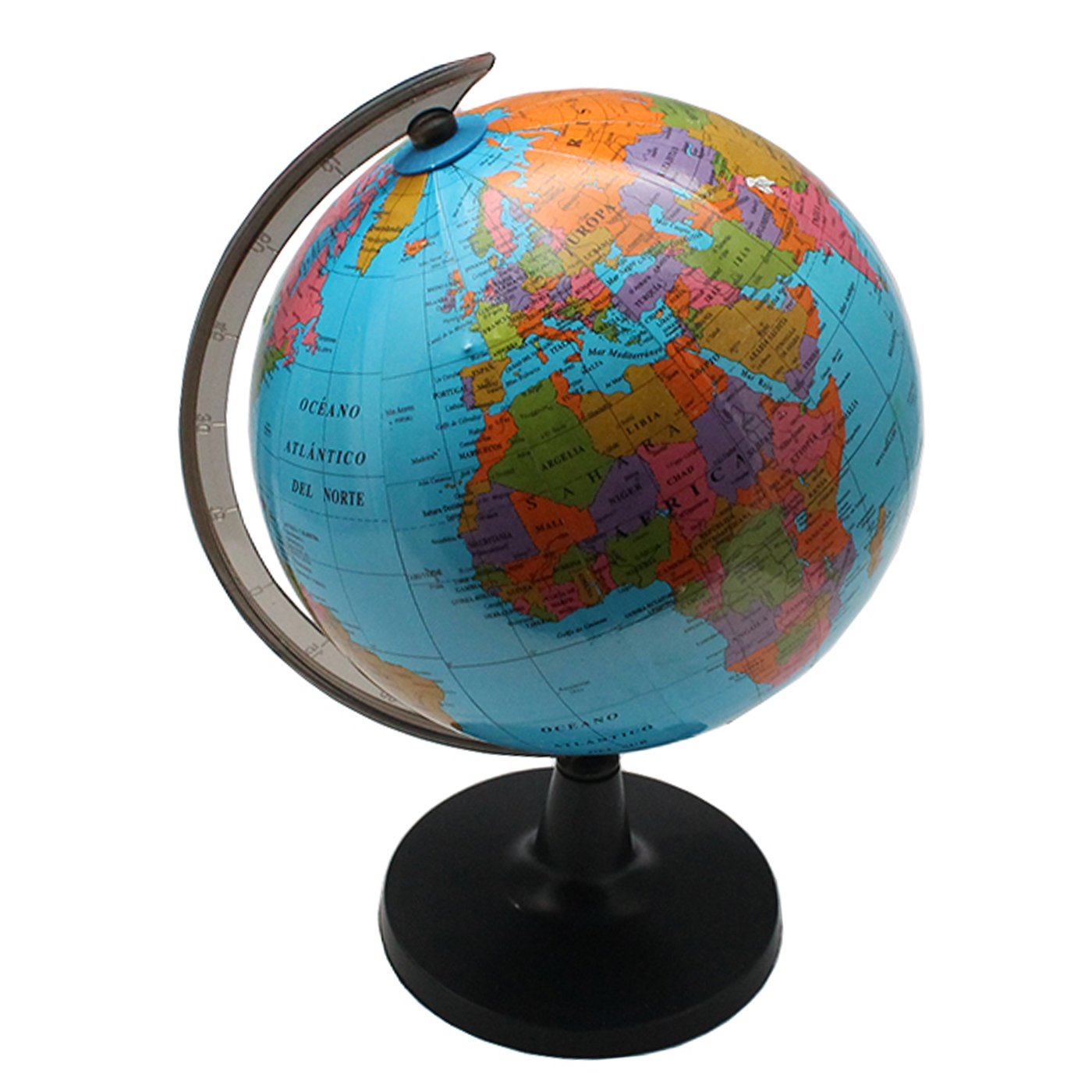 Globo terráqueo 14.16 cm: Amazon.es: Juguetes y juegos