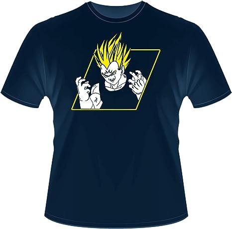 Instabuy T-Shirt Square - Dragon Ball - Majin Vegeta - Camiseta Unisex Tamaños S-XL: Amazon.es: Deportes y aire libre