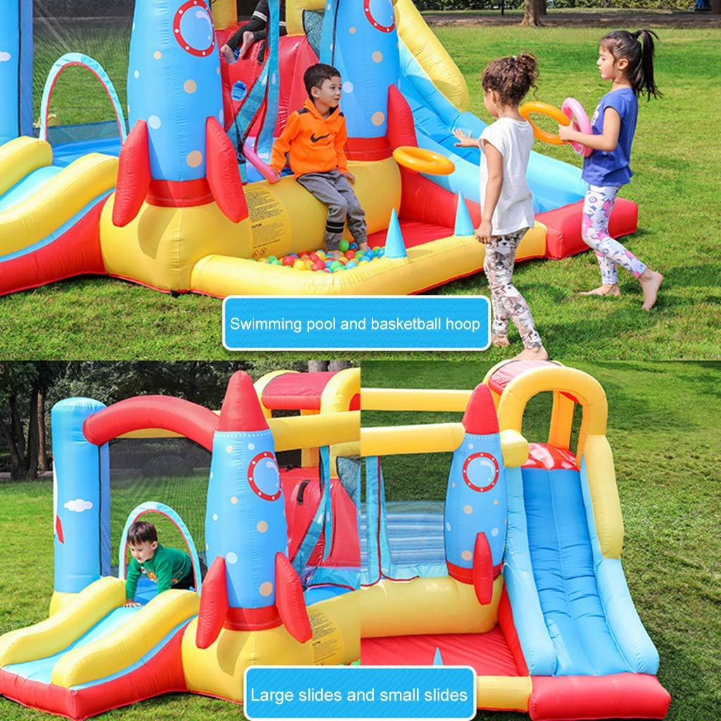 Amazon.com: Outdoor Play - Castillo infantil para uso al ...