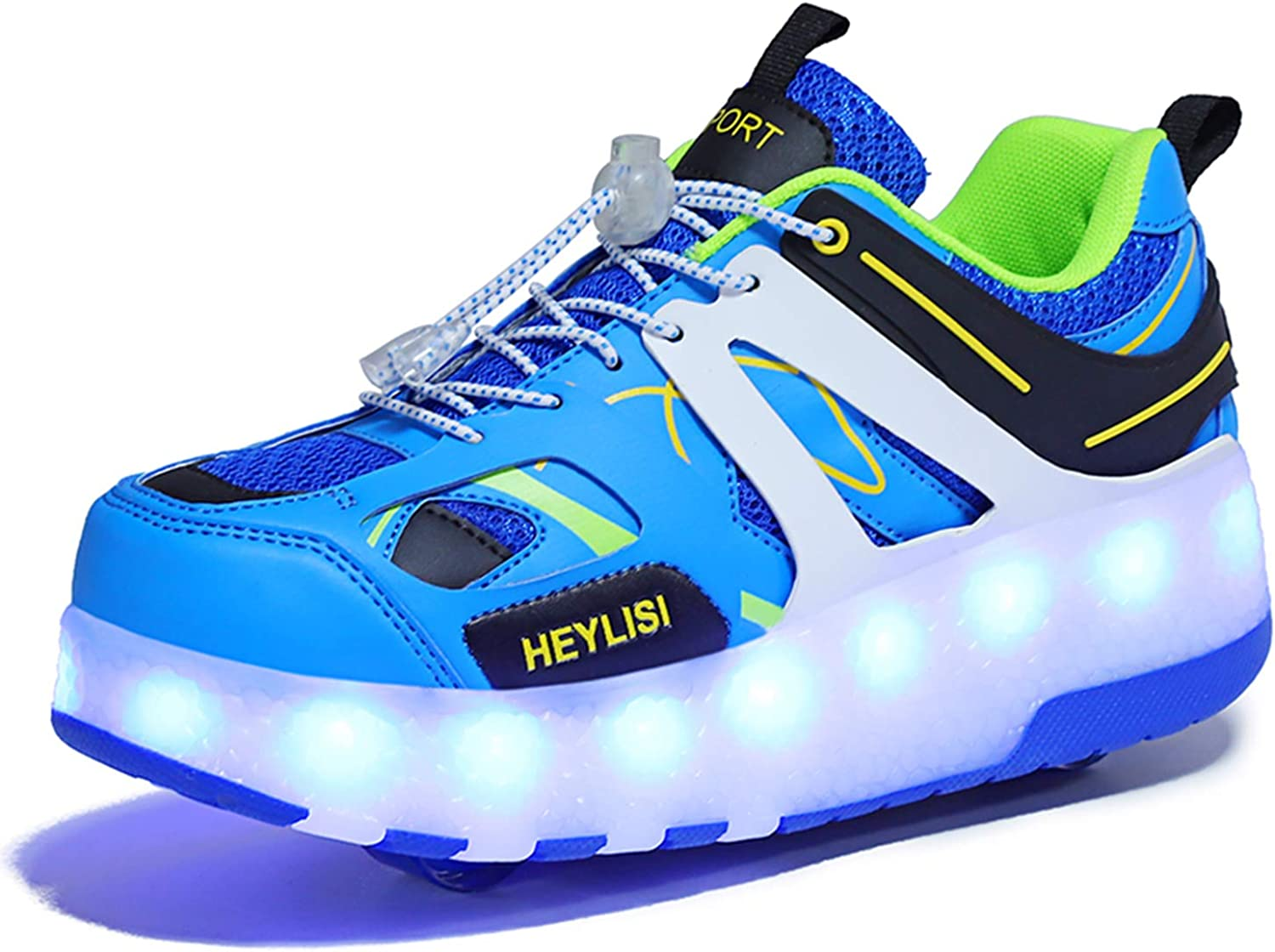 pit4tk Kid Shoe Kid Sneaker Boy Girl Shoes Led Light up Shoes Fashion Sneaker Rechargeable Sneakers