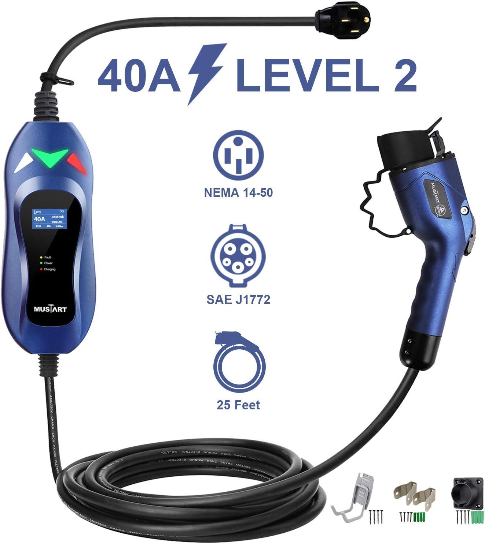 MASTART等级2便携式EV充电器