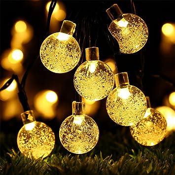 LED Edison Bulb String Lights Battery Powered Fairy Home Garden Party Decor Lamp