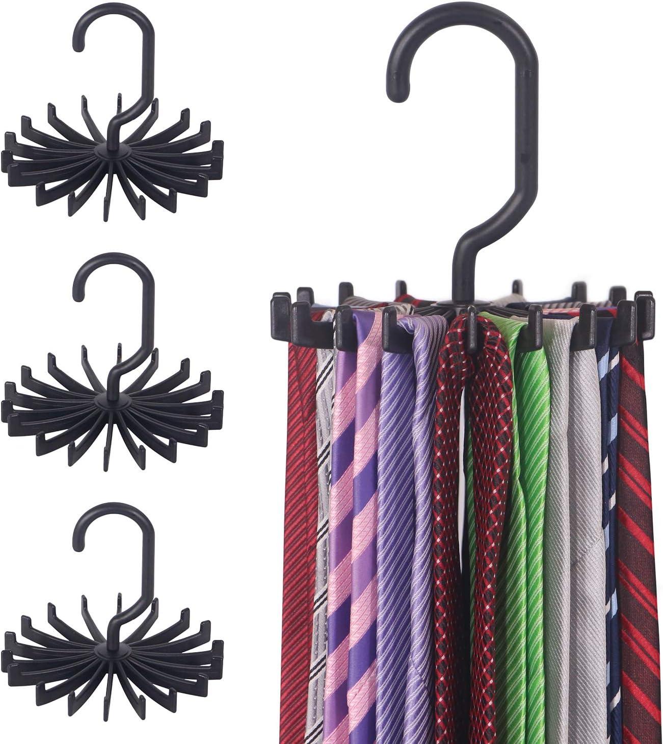 Closet Storage Rack Hanger Tie Belt Organizer Halter 30,5 x 7,3 x 1,4 cm