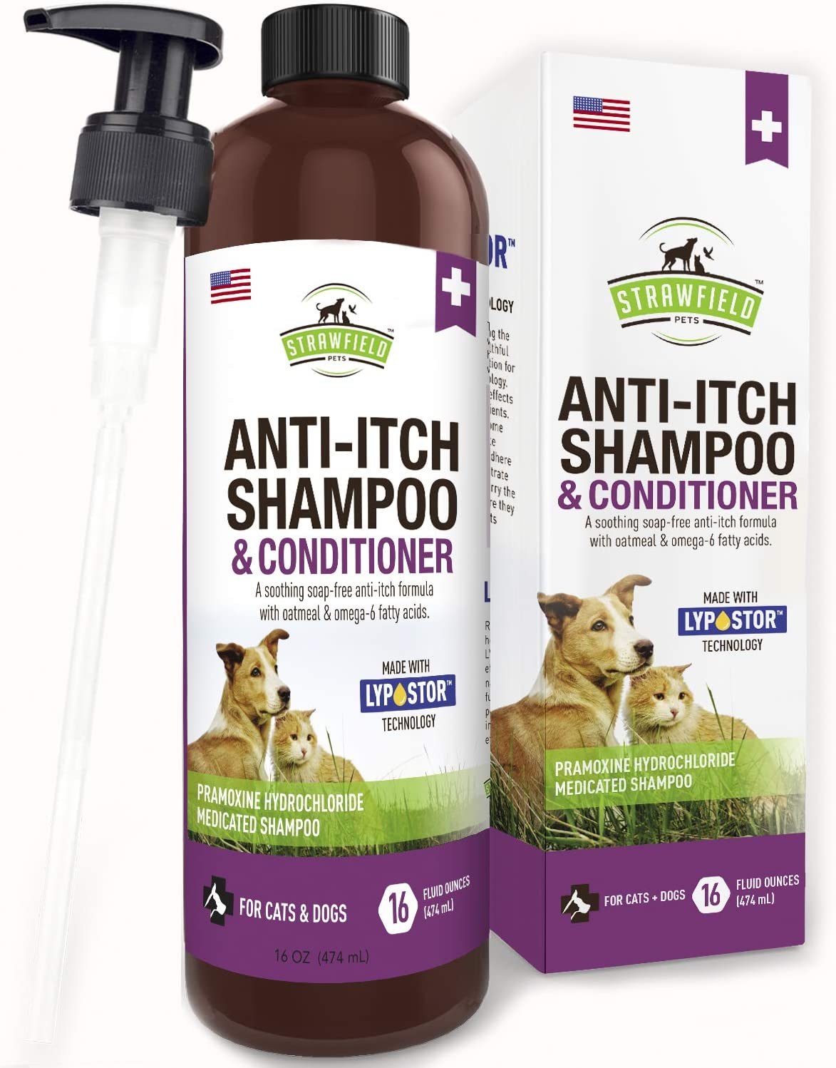 Amazon Com Anti Itch Dog Shampoo For Dry Itchy Skin 16 Oz Medicated Hypoallergenic Colloidal Oatmeal Dog Shampoo And Conditioner For Allergies And Itching Sensitive Skin Allergy Relief Treatment Usa Pet Supplies
