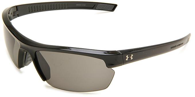 2da8678e18 Amazon.com  Under Armour Under Armour Stride XL Rectangle Sunglasses ...