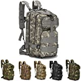 Gouptec 25L Army 3 Day Pack 3P Assaut Tactical Backpack Molle military bag Camping Hiking Trekking