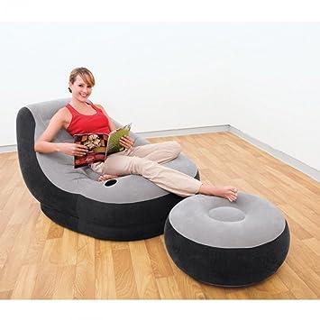 Intex Aufblasbarer Sessel Und Fußablage Amazonde Küche Haushalt