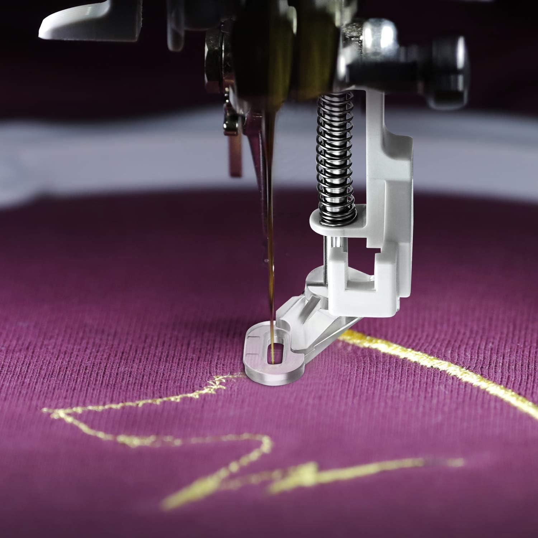 4 Piezas Prensatelas de Máquina de Costura Zurcidura de Metal ...
