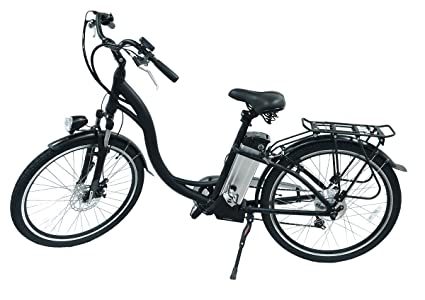 748396c7ad1 Hover-Way City Cruiser 15 MPH Electric Bike with Pedal Assist and Removable  Lithium-