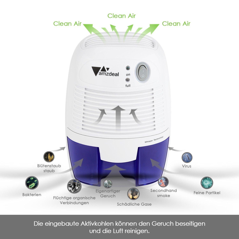 Deshumidificador Compacto y portátil con Tecnología de Semiconductores por solo 36,99€