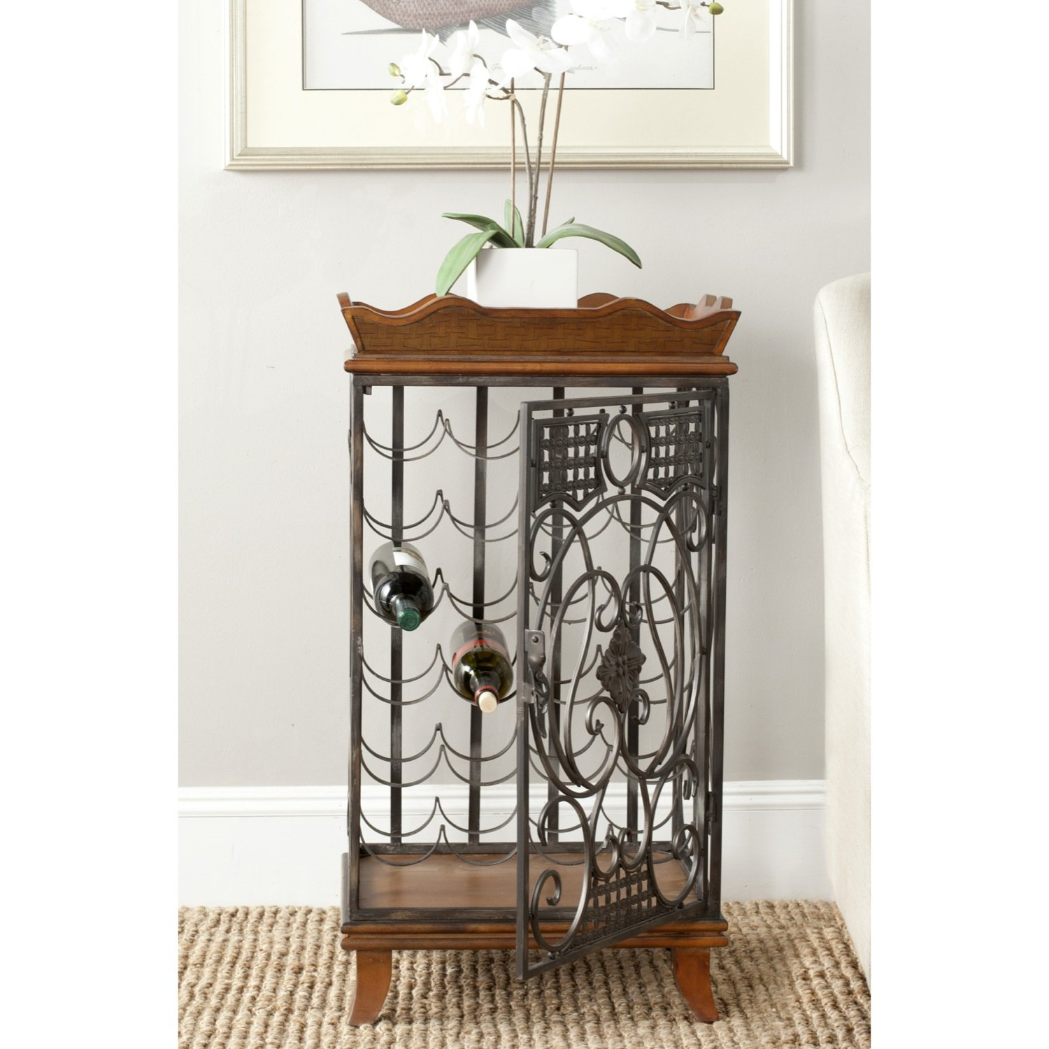 Safavieh American Homes Collection Robin Brown Wine Rack