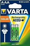 Varta - Pilas recargables AAA NiMH, 550 mAh, 2 unidades
