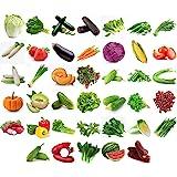 11,000 + Organic Seeds Vegetable Fruit Seeds Emergency-Survival Garden Food Outdoor Living (40 Variety)