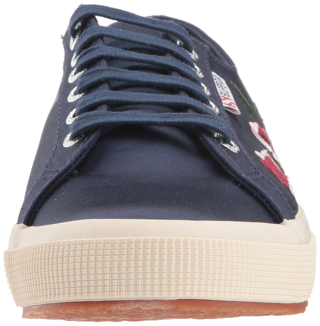 Superga Women's 2750 Embphenw Sneaker B0767V1QVK 39.5 Medium EU (8.5 US)|Navy