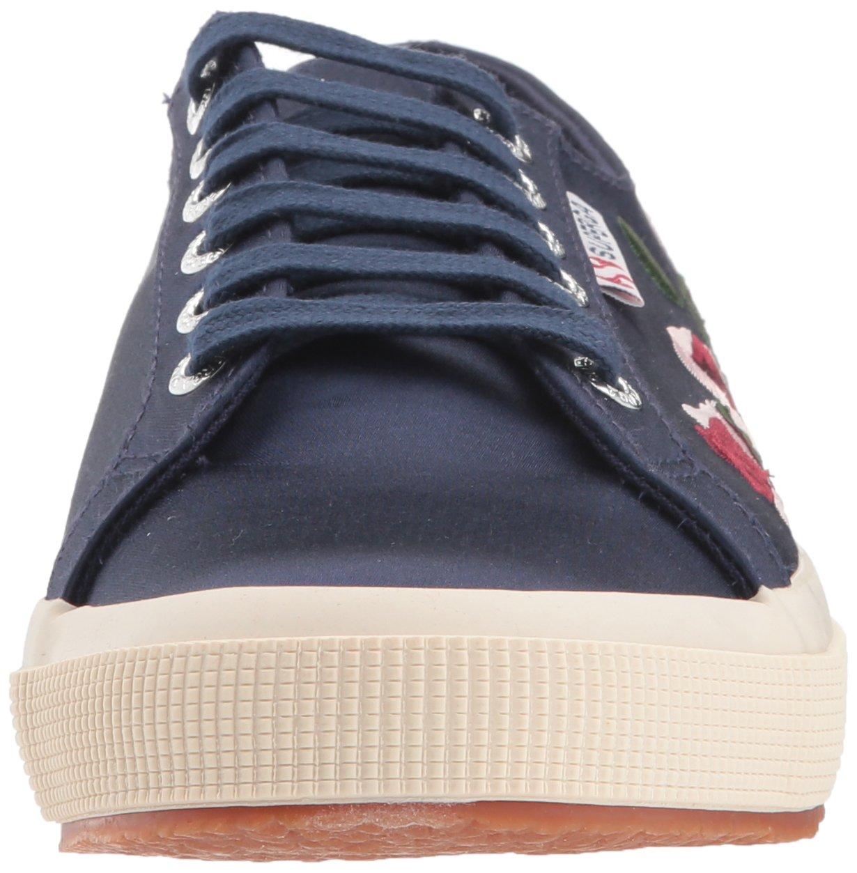 Superga Women's 2750 Embphenw (8.5 Sneaker B0767V1QVK 39.5 Medium EU (8.5 Embphenw US)|Navy 3201d3