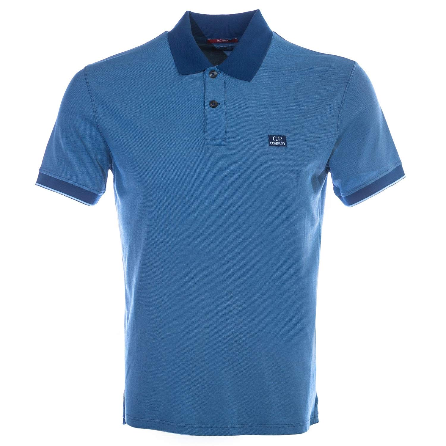 CP Company Tacting Polo Shirt in bleu