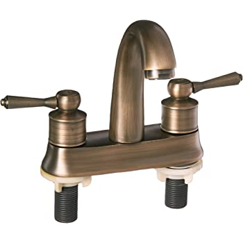 European Style Two Handle Centerset Bathroom Vessel Sink