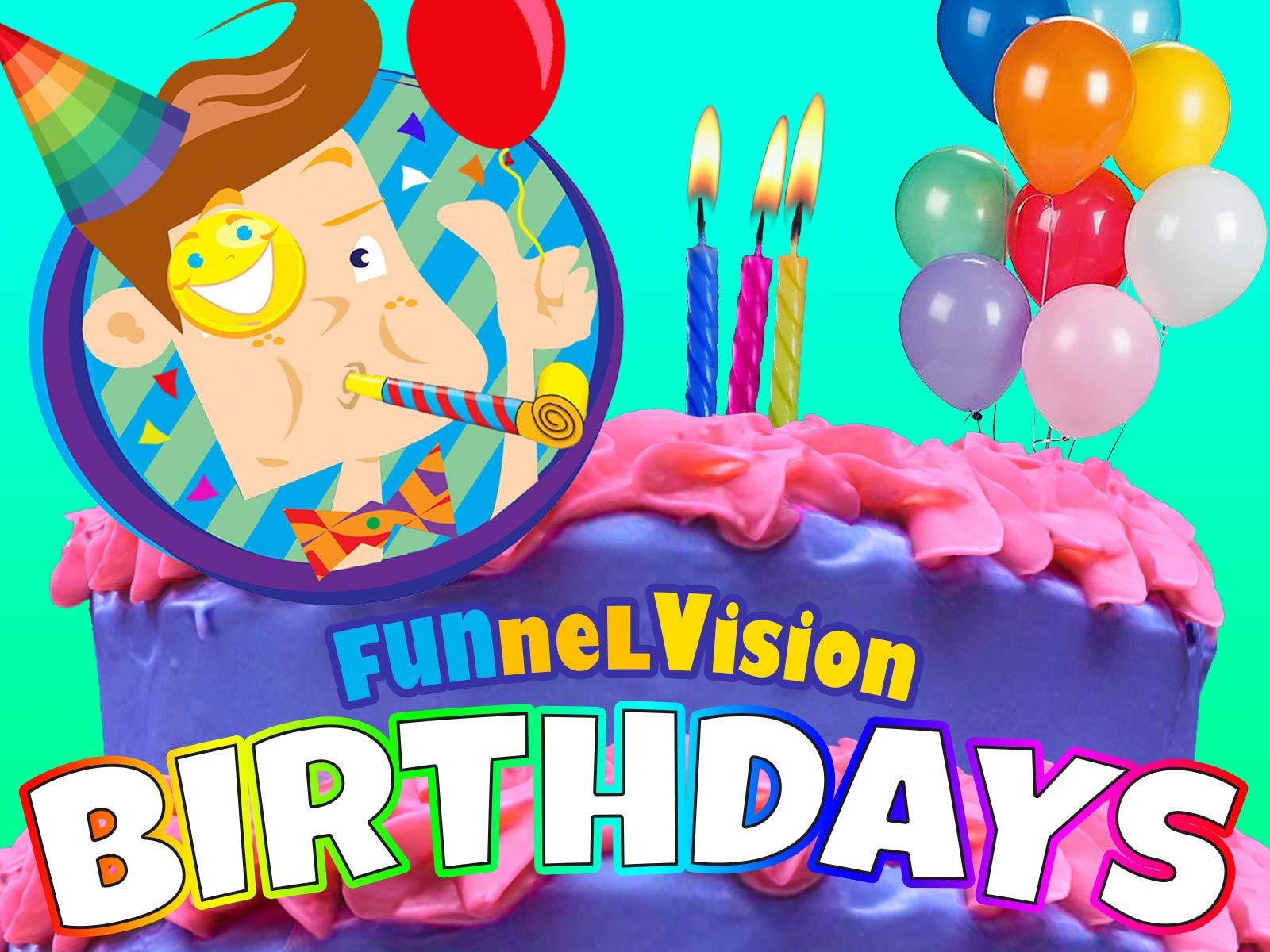 FUNnel Vision: Birthdays on Amazon Prime Video UK