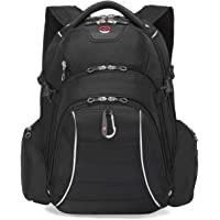 Swiss Gear Carry-On Backpack with Rainproof Laptop Section and Tablet Compartment