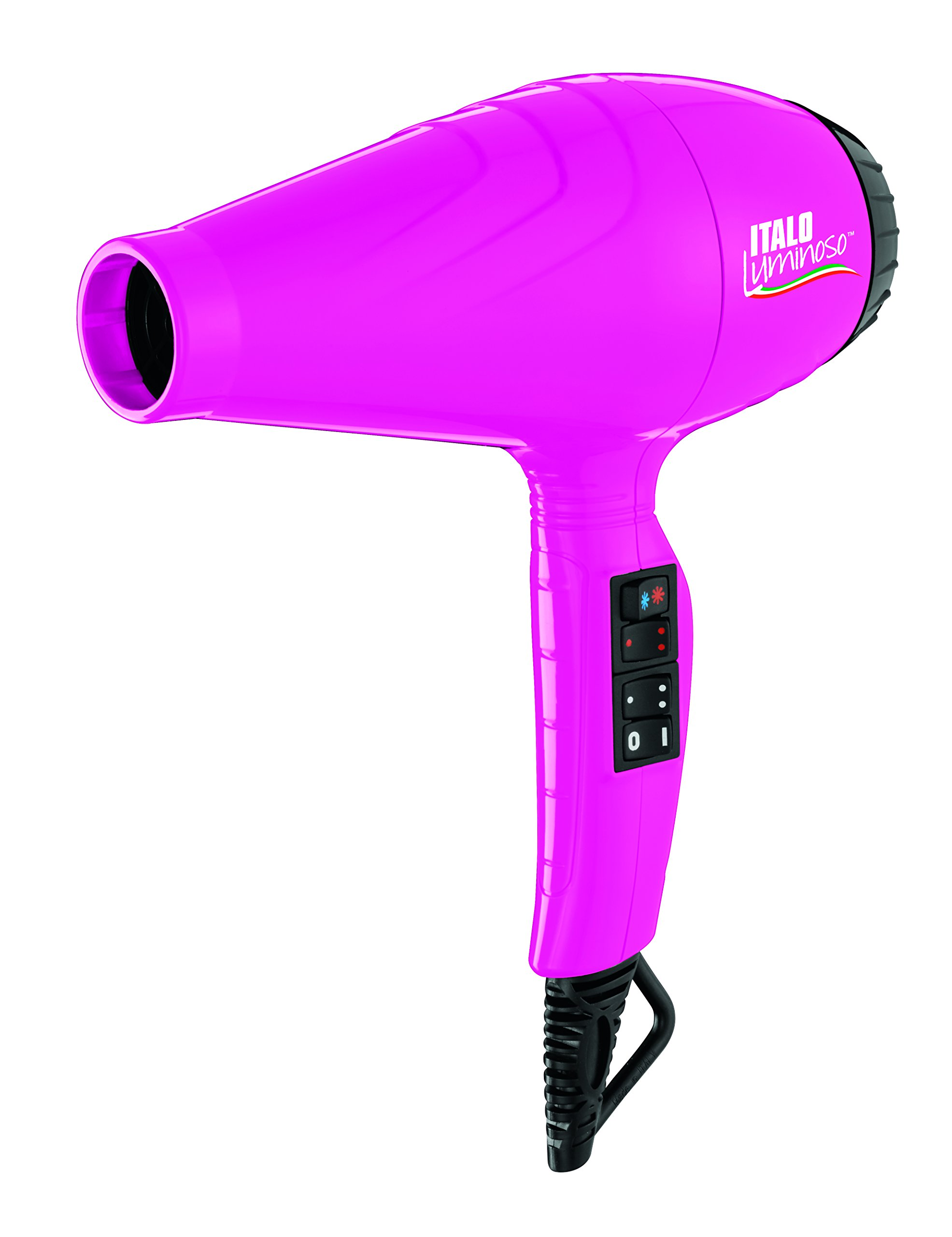 BaBylissPRO Italo Luminoso Pink Hair Dryer - 71K  8tyHiL - BaBylissPRO Italo Luminoso Pink Hair Dryer