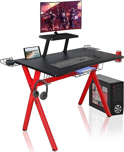 GBU Red Gaming Desk