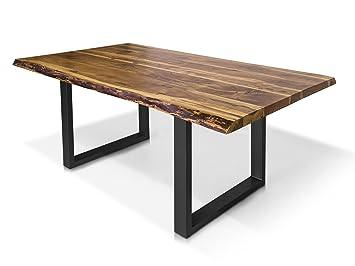 moebel-eins DALIN Baumkantentisch Baumkantenesstisch ...