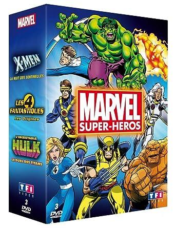 Marvel Super Héros Coffret Dvd Blu Ray Amazon Fr