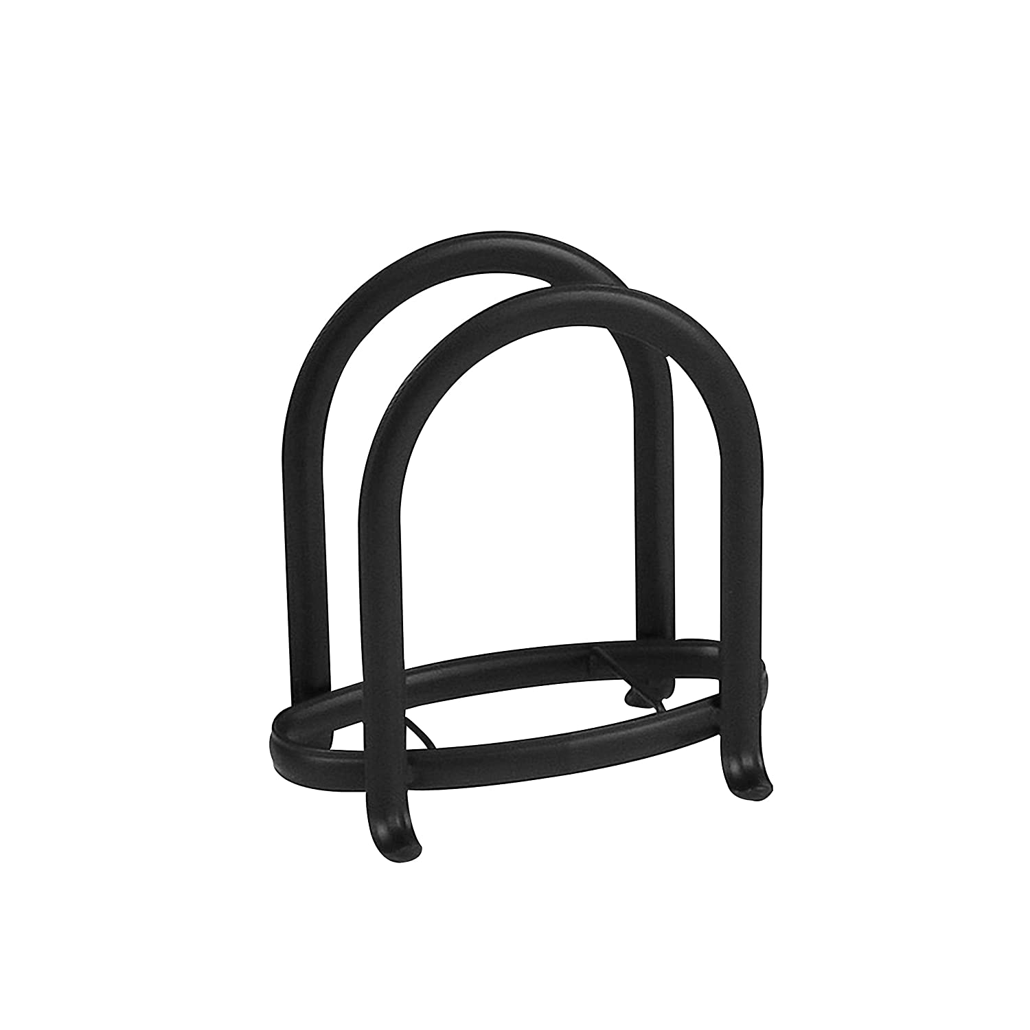 Spectrum Diversified Ashley Napkin Holder, Black 57310