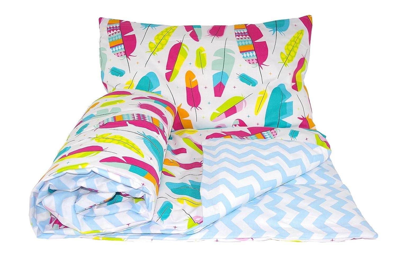 Baby/'s Comfort REVERSIBLE 2pcs baby bedding set DUVET// QUILT COVER PILLOWCASE