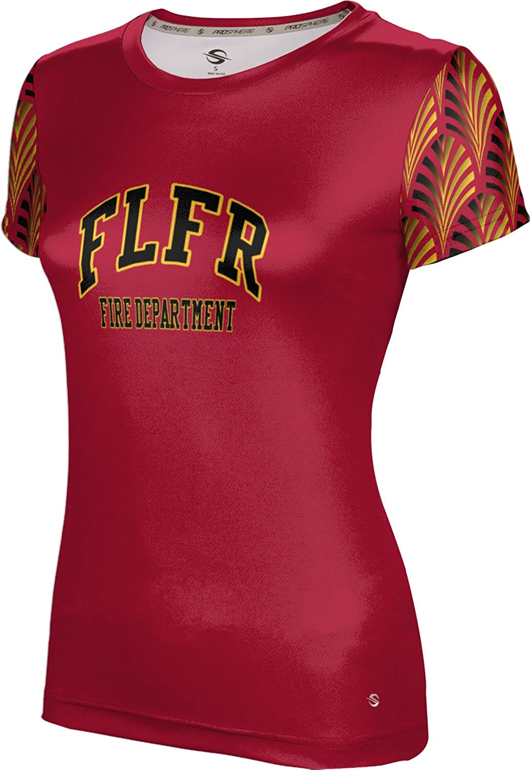 ProSphere Women's Fort Lauderdale Fire Rescue Gov-Fire-Police Deco Tech Tee