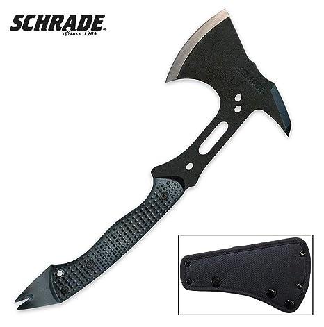 Schrade Scaxe5 SCHAXE5 Cuchillo tascabile, 0, 0: Amazon.es ...