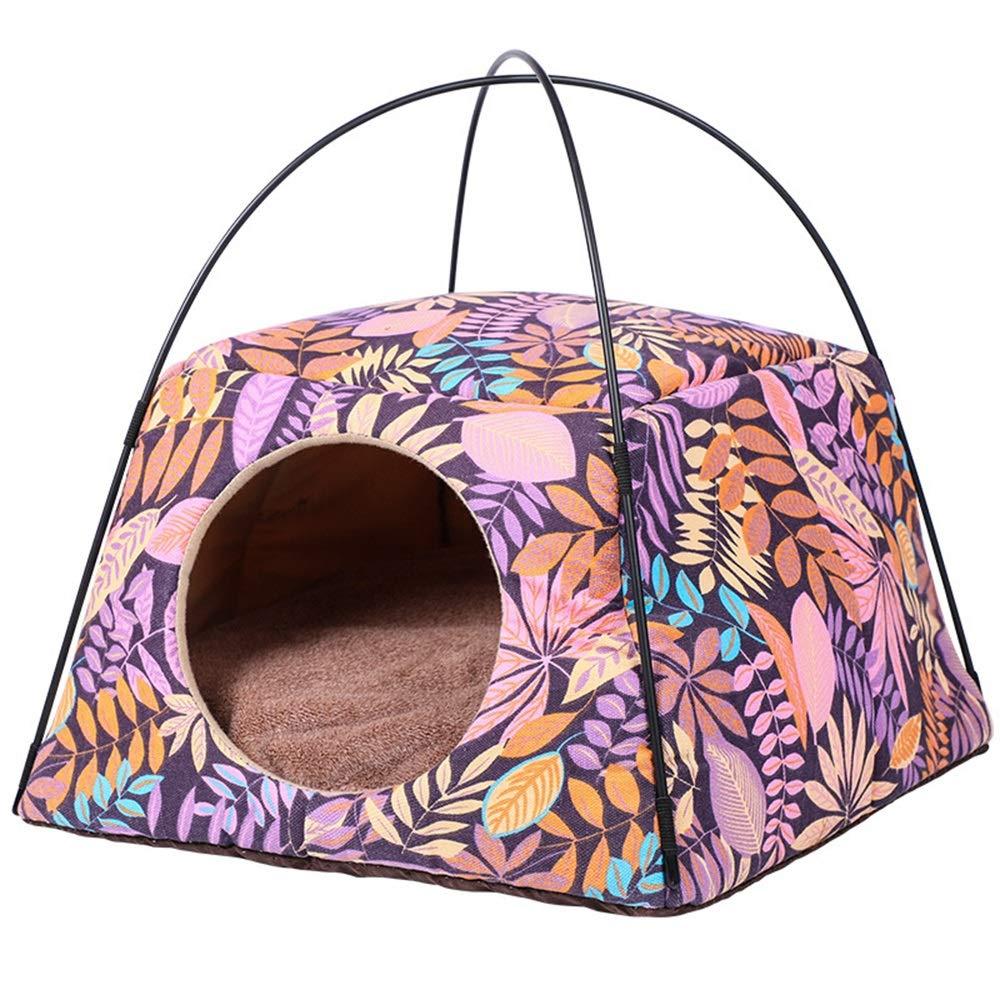 presa di marca Jian E -  Pet Nest Nest Nest - Cat Kennel Warm Grande Pet Nest Winter Fussy in Cat Litter Mat Dog Kennel  -  (colore   A)  ampia selezione