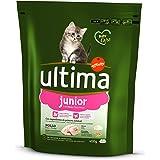 Ultima Cat Junior Comida Para Gatos con Pollo y Arroz - 400 g