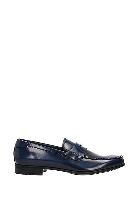 Mocasines Prada Hombre - Piel (12DB137) EU: Amazon.es: Zapatos y complementos